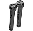 MOTORCYCLE RISERS BLACK METHOD RISERS 10 INCH TALL FOR 1 INCH MOUNTING
