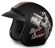 MOTORCYCLE HELMETS D.O.T. DAYTONA CRUISER- W/ BUILT FOR SPEED
