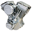Ultima Natural El Bruto 100c.i Complete Engine for Harley Big Twin 1984-1999
