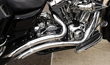 Stealth  EXHAUST FOR FLH BAGGERS CHROME